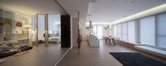 经济型60平米一室两厅日式风格客厅装修图片大全