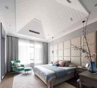 140平米四室三厅中式风格卧室设计图