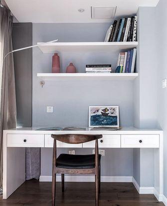 富裕型140平米三室两厅美式风格书房装修案例