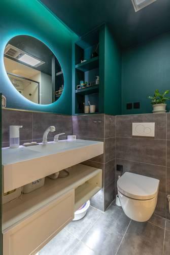 60平米公寓混搭风格卫生间装修案例
