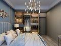 130平米三室两厅轻奢风格卧室设计图