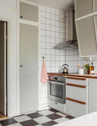 5-10万100平米三室两厅现代简约风格厨房图