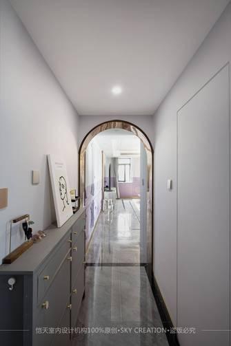 富裕型90平米复式法式风格玄关装修案例