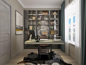 三室一厅港式风格书房欣赏图