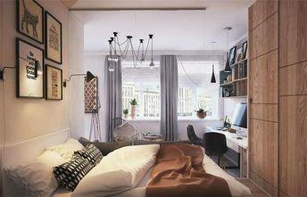 富裕型一室一厅现代简约风格卧室设计图