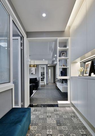 5-10万90平米四室一厅轻奢风格走廊欣赏图