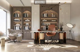 豪华型140平米别墅法式风格书房装修图片大全