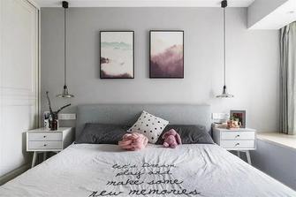 15-20万80平米北欧风格卧室装修效果图