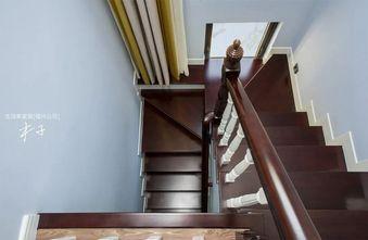 豪华型120平米复式美式风格楼梯间图片大全