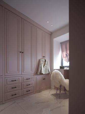 富裕型100平米三室两厅现代简约风格衣帽间图片大全