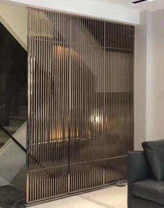 20万以上140平米别墅轻奢风格楼梯间图