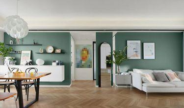 5-10万110平米一室一厅北欧风格客厅装修效果图