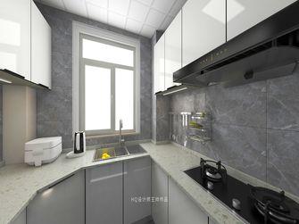 富裕型90平米新古典风格厨房图