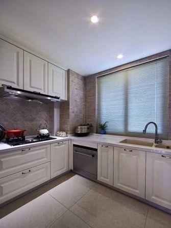 130平米三室一厅美式风格厨房图片