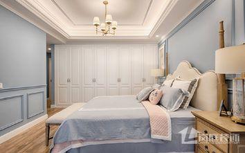 20万以上140平米三室两厅混搭风格卧室图