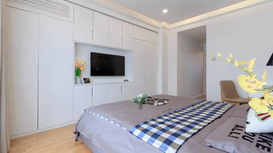 20万以上90平米三室两厅现代简约风格卧室欣赏图