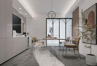 20万以上140平米三室两厅现代简约风格餐厅图