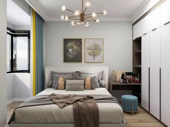 5-10万110平米三室三厅轻奢风格卧室装修效果图