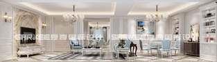 20万以上140平米三欧式风格客厅图片