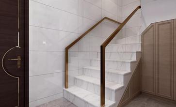 100平米中式风格走廊设计图