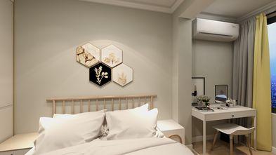 50平米北欧风格卧室图
