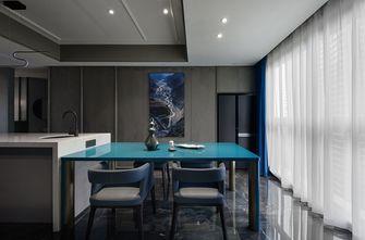 富裕型140平米四室两厅法式风格餐厅装修图片大全