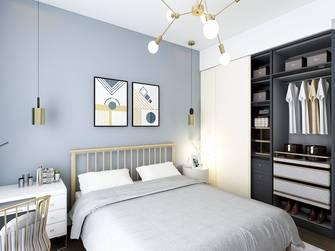 经济型40平米小户型田园风格卧室装修案例