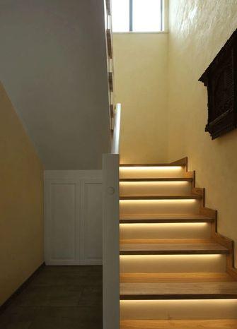 20万以上140平米复式东南亚风格楼梯间图片大全