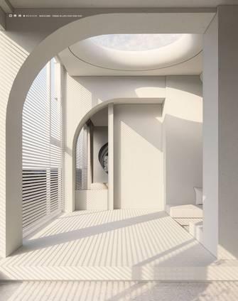 20万以上140平米三室两厅现代简约风格阳光房装修图片大全
