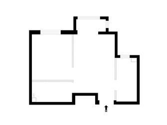 5-10万30平米小户型现代简约风格客厅欣赏图