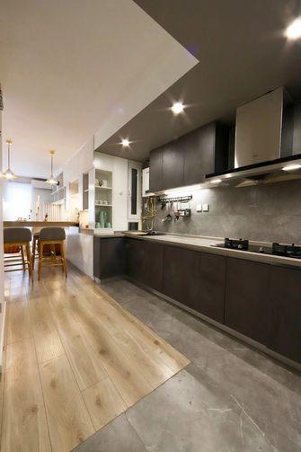 10-15万50平米公寓现代简约风格厨房设计图