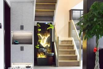 豪华型140平米三室两厅现代简约风格玄关设计图