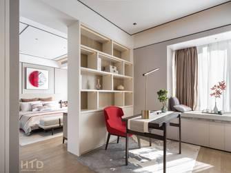 140平米现代简约风格书房设计图