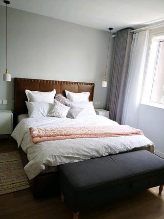 经济型80平米美式风格卧室设计图