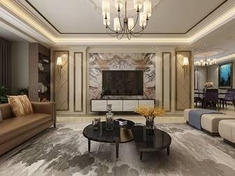 20万以上140平米四室四厅轻奢风格客厅图片大全