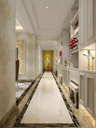 富裕型120平米三室两厅欧式风格走廊图片