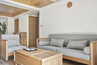 10-15万90平米三室一厅日式风格书房图