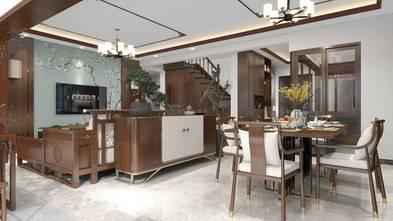 140平米三中式风格餐厅装修效果图