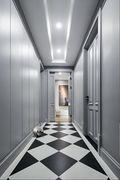 120平米三北欧风格走廊装修效果图