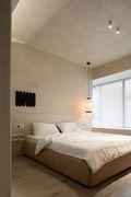 120平米三室两厅工业风风格卧室图片大全