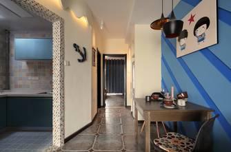 60平米东南亚风格客厅效果图