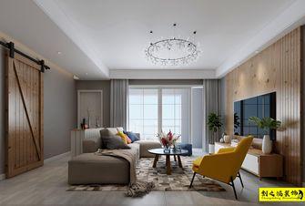 5-10万90平米四室两厅北欧风格客厅装修图片大全