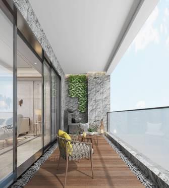 豪华型140平米四现代简约风格阳台设计图