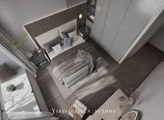 3万以下120平米现代简约风格卧室设计图