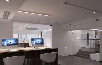 140平米一居室现代简约风格其他区域图