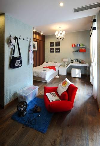 140平米四室一厅法式风格卧室装修效果图