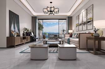 130平米四混搭风格客厅设计图