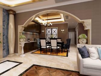 豪华型140平米别墅混搭风格餐厅装修案例