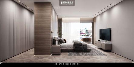 20万以上140平米别墅现代简约风格卧室装修图片大全