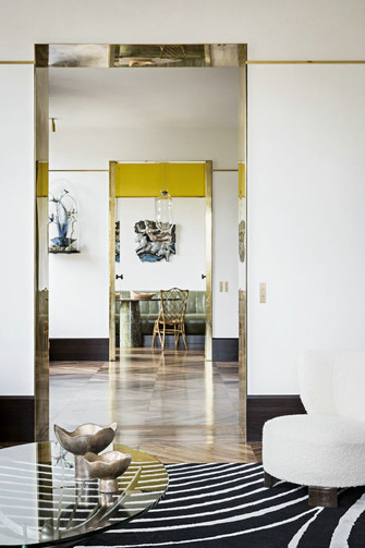 15-20万80平米公寓混搭风格客厅图片大全